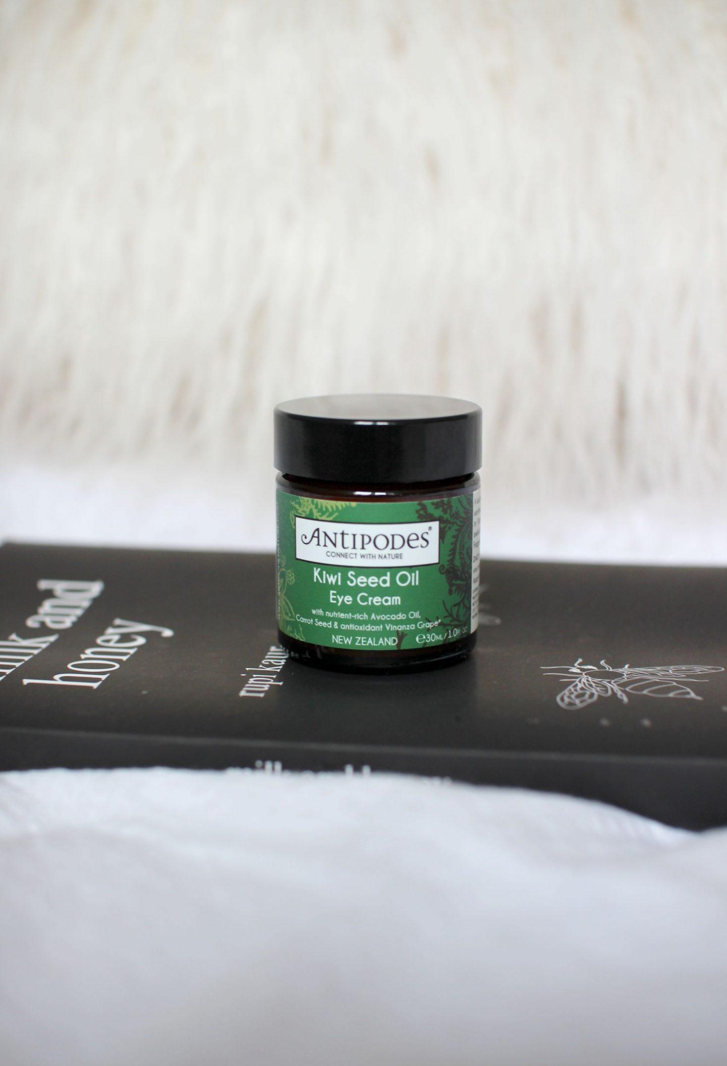 Antipodes Kiwi Seed Oil Eye Cream Review - Zoey Olivia